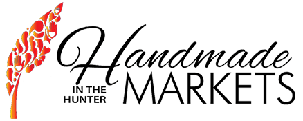 Handmade In The Hunter Markets Logo